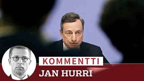 Euroopan keskuspankki päätti heinäkuun lopussa, ettei se nosta ohjauskorkoa. Pääjohtaja Mario Draghi puhui huhtikuussa vastaavan päätöksen jälkeen.