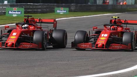 Ferrarin juhlakisaan ensi viikolla ei pääse halvalla.