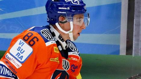 Tyler Morley loukkaantui.