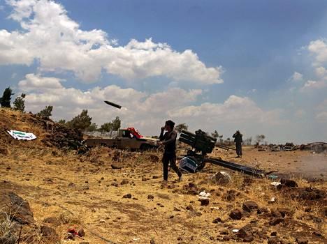 Syyrian sodassa taistelee useita ryhmittymiä.