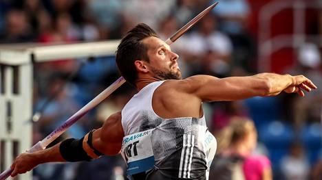 Magnus Kirt heitti torstaina Ostravassa maailmantilaston kärkituloksen 90,34.