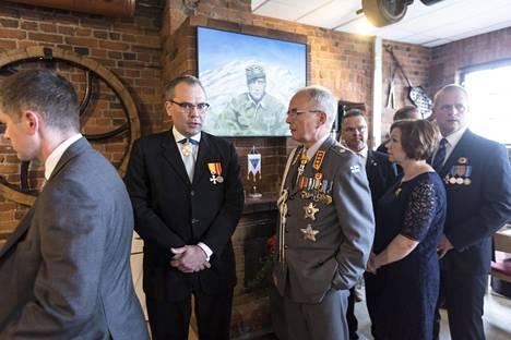Puolustusministeri Jussi Niinistö sanoi Lauri Törnin olevan marsalkka Mannerheimin jälkeen Suomen kansvainvälisesti tunnetuin sotilas.