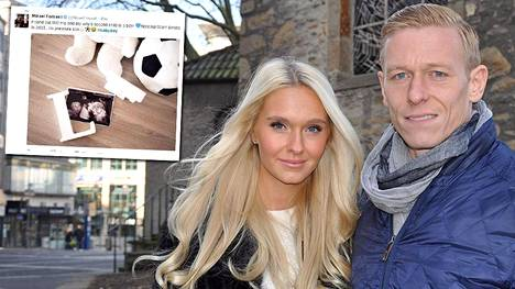 Metti ja Mikael Forssell odottavat toista lastaan.