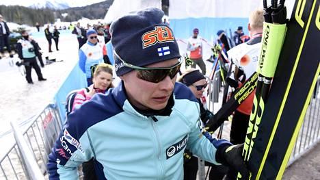 Matti Heikkisen kansainvälinen ura on ohi. Kotimaassa hän hiihtää vielä jokusen kilpailun.