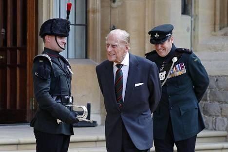 Prinssi Philip jäi eläkkeelle vuonna 2017.