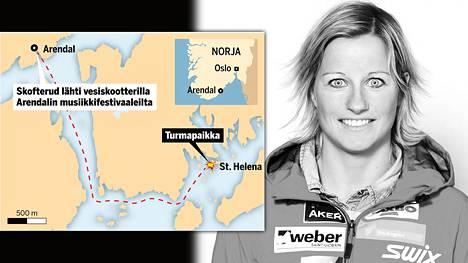 Ruumiinavaus paljasti uutta tietoa olympiavoittaja Vibeke Skofterudin hengen vieneestä onnettomuudesta