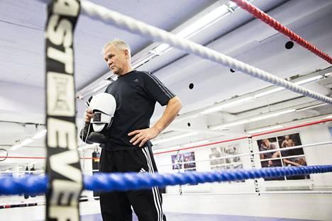 Risto Meronen on pitkän linjan nyrkkeilyvaikuttaja.