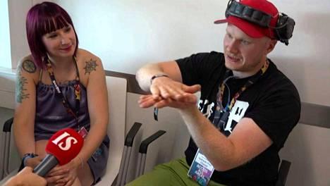 Anni ja Lauri Vuohensilta ISTV:ssä viime elokuussa.