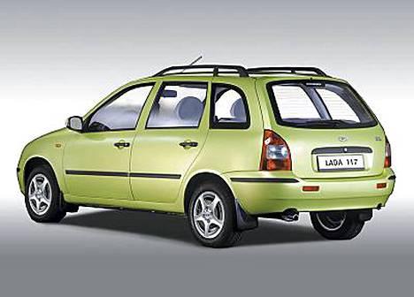 Lada 117 STW on Lada Kalinan (Lada 119) farmariversio.