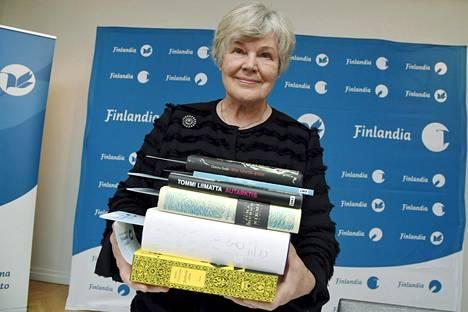 Vuoden kaunokirjallisuuden Finalandia-palkinnon saajan valinneen Elisabeth Rehnin piti lukea 19 päivässä kuusi kirjaa.