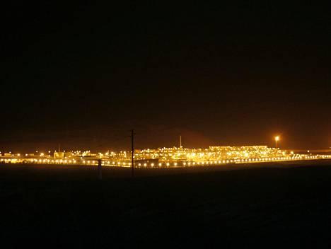 Shaybahin öljykenttä Saudi-Arabiassa.
