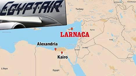 Kaapattu kone kuuluu Egypt Air -lentoyhtiölle ja se oli matkalla Alexandriasta Kairoon. Kone pakotettiin laskeutumaan Kyprokselle