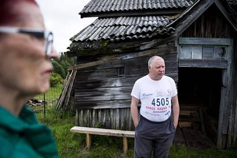 Valeri Polozov esitteli nykyistä elämänmenoa Hyrsylän mutkassa.