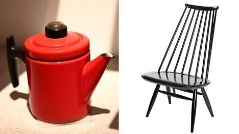 Mummon vanha huonekalu voi olla nykyinen hitti. Esimerkiksi Ilmari Tapiovaaran Mademoiselle-nojatuoli on nykyään arvostettu design-aarre. Pehtoori-pannusta haaveilevat puolestaan sisustajat.