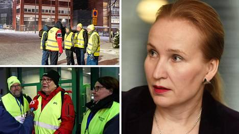 Työmarkkinajohtaja Minna Helteen kanssa vientiyrityksiä vaivaavaa tes-kiistaa ei ole saatu sovittua eikä uusia neuvotteluja ole sovittu.