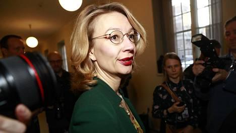 Eurooppaministeri Tytti Tuppurainen tukee uudeksi pääministeriksi liikenne- ja viestintäministeri Sanna Marinia.