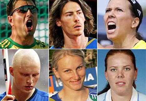 Frantz Kruger, Tommi Evilä, Mikaela Ingberg, Teemu Wirkkala, Hanna Grobler ja Merja Korpela lähtevät Berliiniin MM-kisoihin.