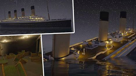 Titanicin Uppoaminen