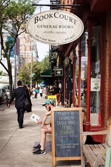 BookCourt Cobble Hillillä Brooklynissä.