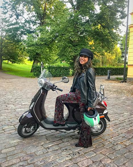 Rakkaus toi Agahanin Helsinkiin.