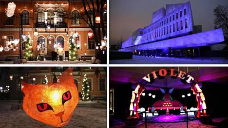 Lux Helsinki valaisee kaupungin laajempana kuin koskaan ennen – lumoavat teokset ovat vastavoima pimeydelle