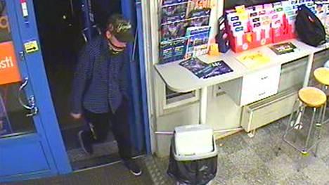 Höyhtyän R-Kioskin epäilty ryöstäjä maanantaina 8.10.