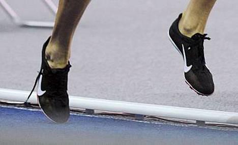 Tässä ovat Keskisalon auenneet kengännauhat.