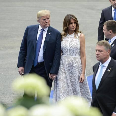 Donald Trump täytti kesäkuussa 72, Melania Trump huhtikuussa 48.