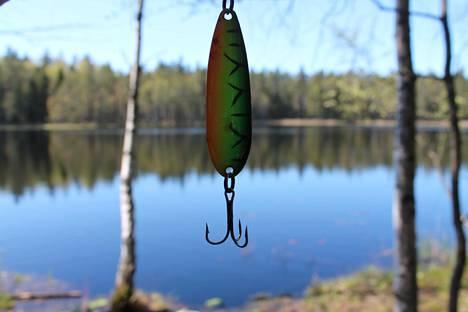 Virvelillä kalastamiseen tarvitaan kalastonhoitomaksu.