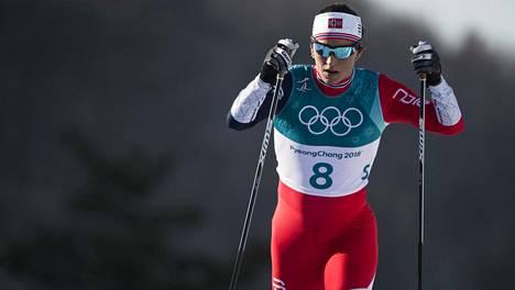 Marit Björgen on yksi historian parhaimmista hiihtäjistä.