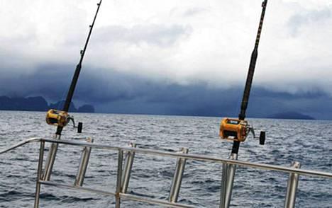 Jasper Pääkkönen ja Ville Pusa kokivat kauhunhetkiä Thaimaan-matkallaan, kun myrsky nousi.