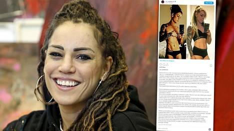Eva Wahlströn julkaisi kuvaparin itsestään ja kävi läpi urheilijan nälkäkuuria.