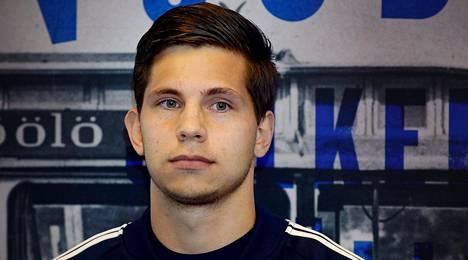 Sebastian Dahlström on HJK:n nuoria lupauksia.