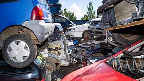 Trafi muistuttaa, että romutettavaa autoa ei kannata viedä minne tahansa.