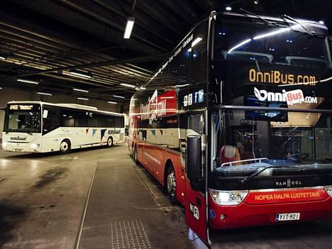 Onnibus aloitti viime vuonna liikennöinnin Kampin terminaalista pitkän kiistan jälkeen.
