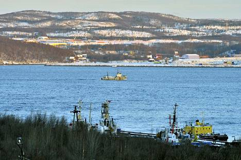 Uiva telakka upposi mereen Kuolan niemimaan edustalle.