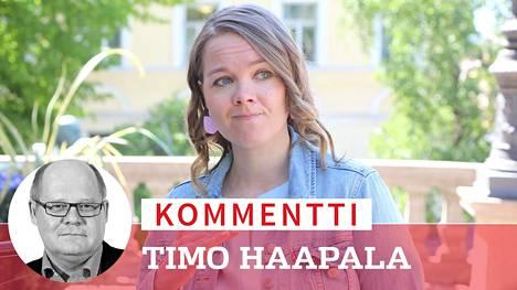 Keskustan puheenjohtaja Katri Kulmuni.