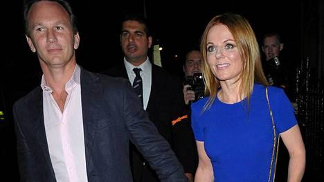 Christian Horner ja Geri Halliwell ovat olleet onnellisesti yhdessä vuoden alusta lähtien.