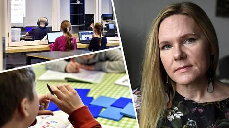 Lapsiasiavaltuutettu Elina Pekkarinen on huolissaan lasten oikeuksien toteutumisesta pandemian torjunnassa.