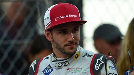 Daniel Abt kuvattuna Monacossa viime vuonna.