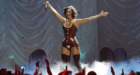 Katy Perryn burleskityyli.
