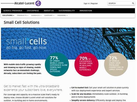 Alcatel-Lucent näkee kovan tarpeen metrotukiasemille.