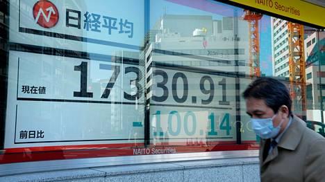 Tokion Nikkei avautui laskuun.