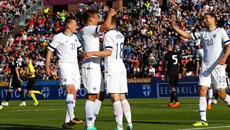 Huuhkajat oli vuoden 2019 suuria ilonaiheita suomalaisessa jalkapallossa.