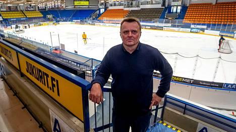 Jukurien HC Oy:n hallituksen puheenjohtaja Juha Toivakka.