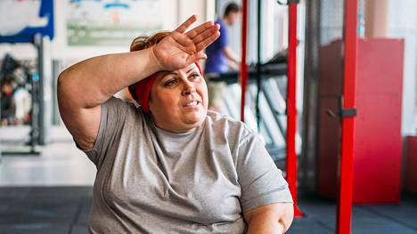 Lihavuus voi osalla aiheuttaa ilmasalpausta, joka heikentää keuhkojen toimintaa.