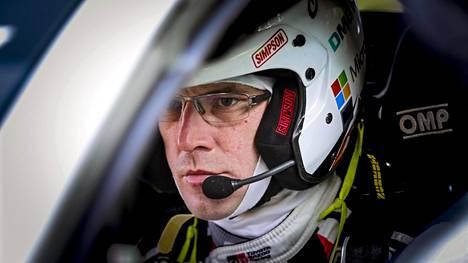 Jari-Matti Latvala ajoi lauantaina kaksi pohja-aikaa.