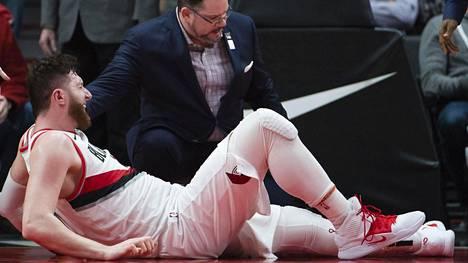 NBA:n tähtipelaaja loukkaantui karmealla tavalla – paluusta parketille ei tietoa