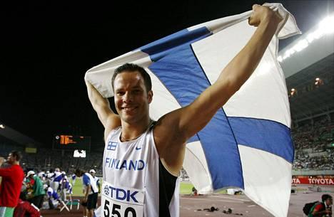 Tero Pitkämäen uran kohokohta on kymmenen vuoden takainen MM-kulta Osakasta. Lauantaina mies hamuaa uransa toista maailmanmestaruutta.