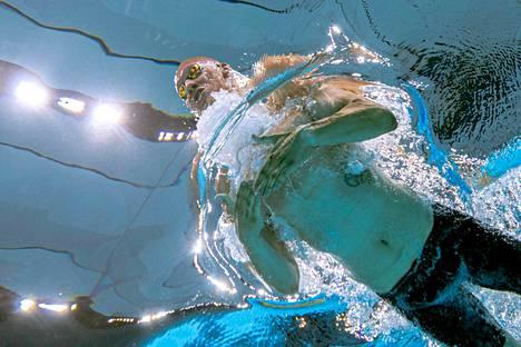 Matti Mattssonin veto oli huima 200 metrin rintauinnin välierissäkin: tuloksena uusi SE-aika 2.08,22.